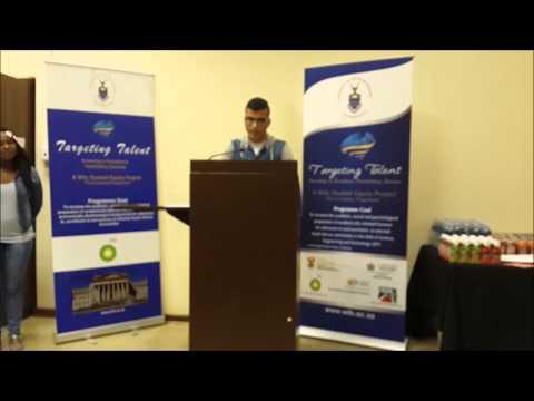 Kiki TTP Speech At Wits University