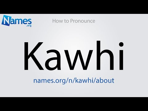 What Does The Name Kawhi Mean?
