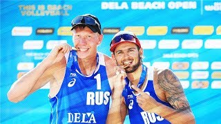 Swatch MAJOR Series • Great RALLY • POL - RUS •  Beach Volleyball World