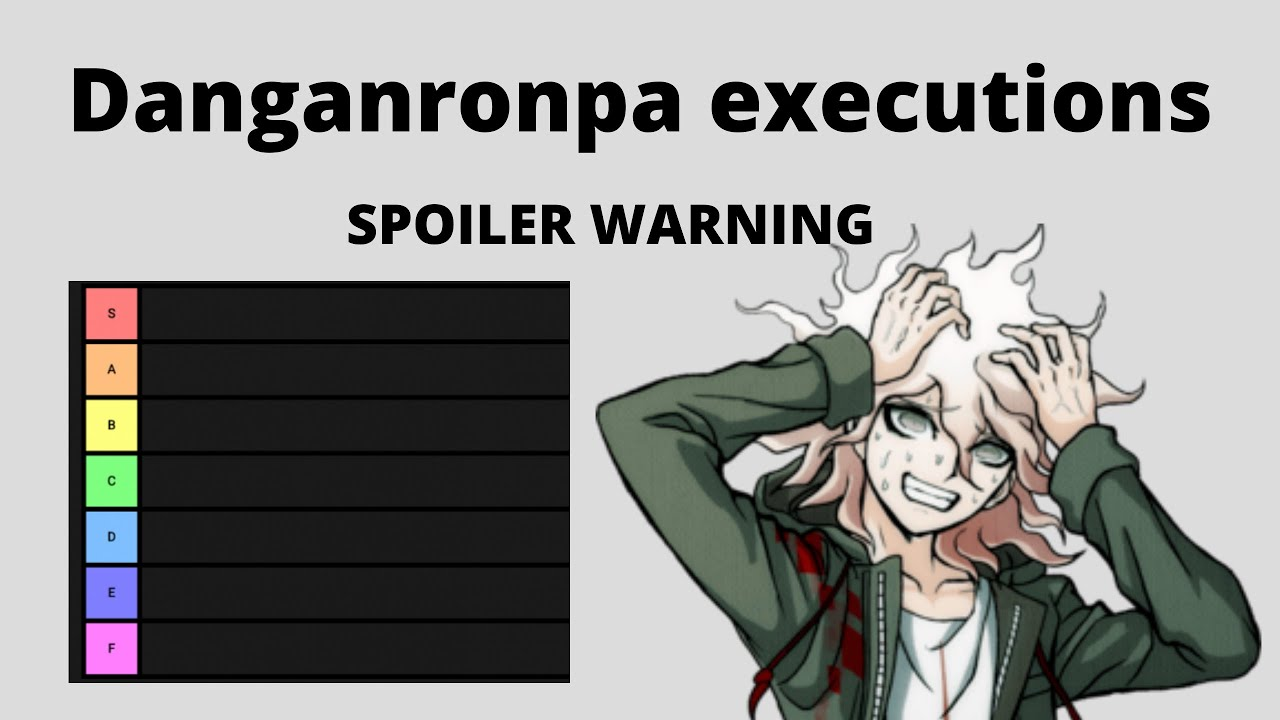 Danganronpa Executions Tier List Spoilers Youtube Fither's sick danganronpa character tier list. danganronpa executions tier list