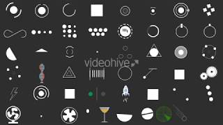 50 Loading Icon Animation Pack || Free After Effects Template ||
