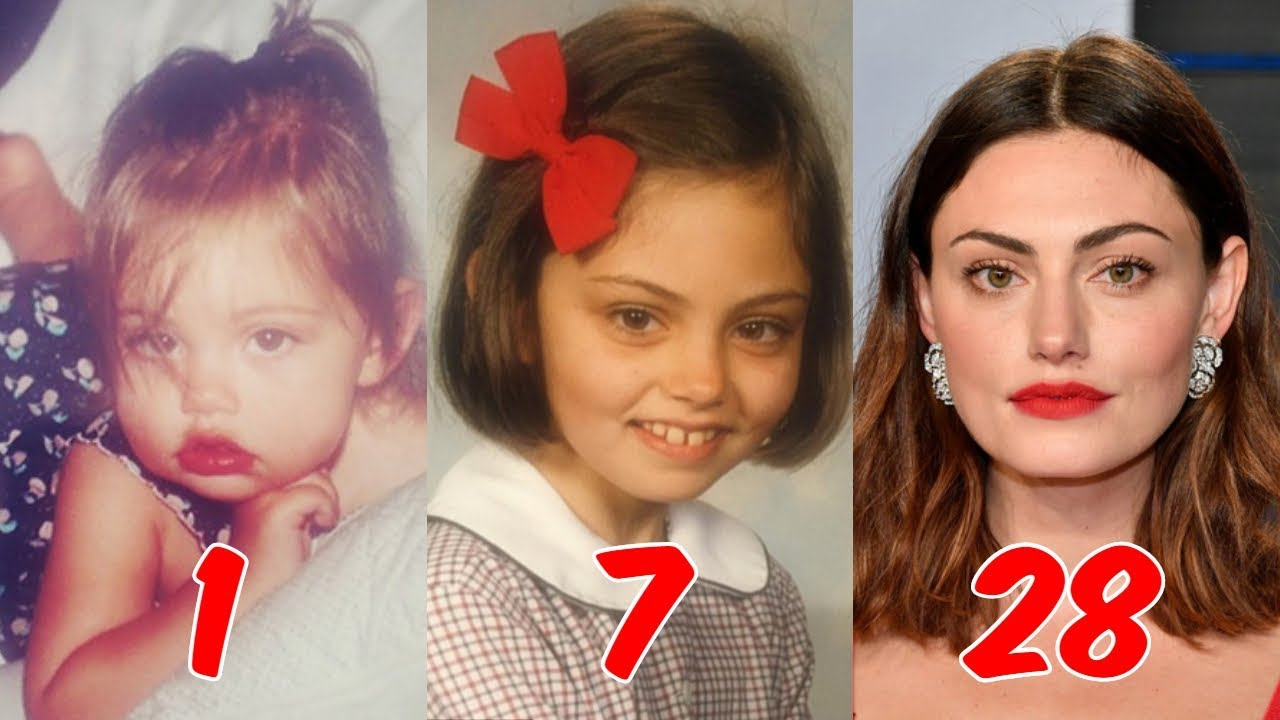 Phoebe Tonkin - Transformation From 0 to 28 Years Old 2018