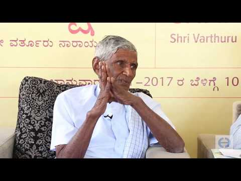 Varthur Narayana Reddy On Organic Farming