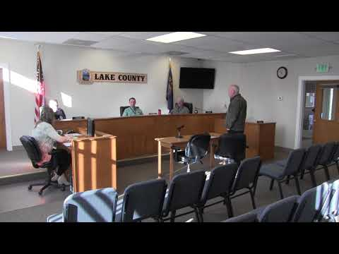 Lake County Commissioner's Regular Session Part 2 1-3-18