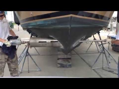 Bow thruster Installation on Carver