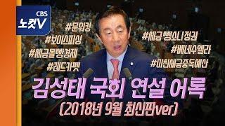 개그맨 소리 들었던 김성태 본회의 '드립'