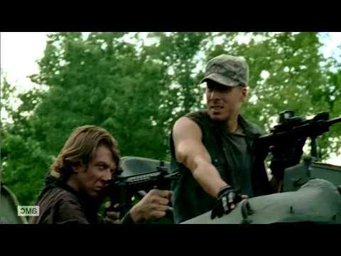 Hershel Death   The Walking Dead Episode 8, season 4 HD