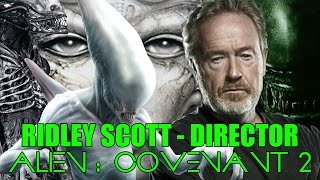 RIDLEY SCOTT DIRECTOR ALIEN : COVENANT 2 - Xenomorph - Neomorph - H.R GIGER - NEWS - NOTICIAS