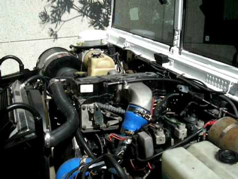 Cummins Turbo Diesel >> 500 HP 24 Valve Cummins H1 Hummer - YouTube