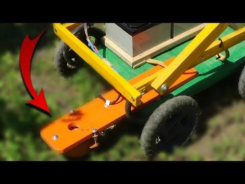 Газонокосилка робот своими руками