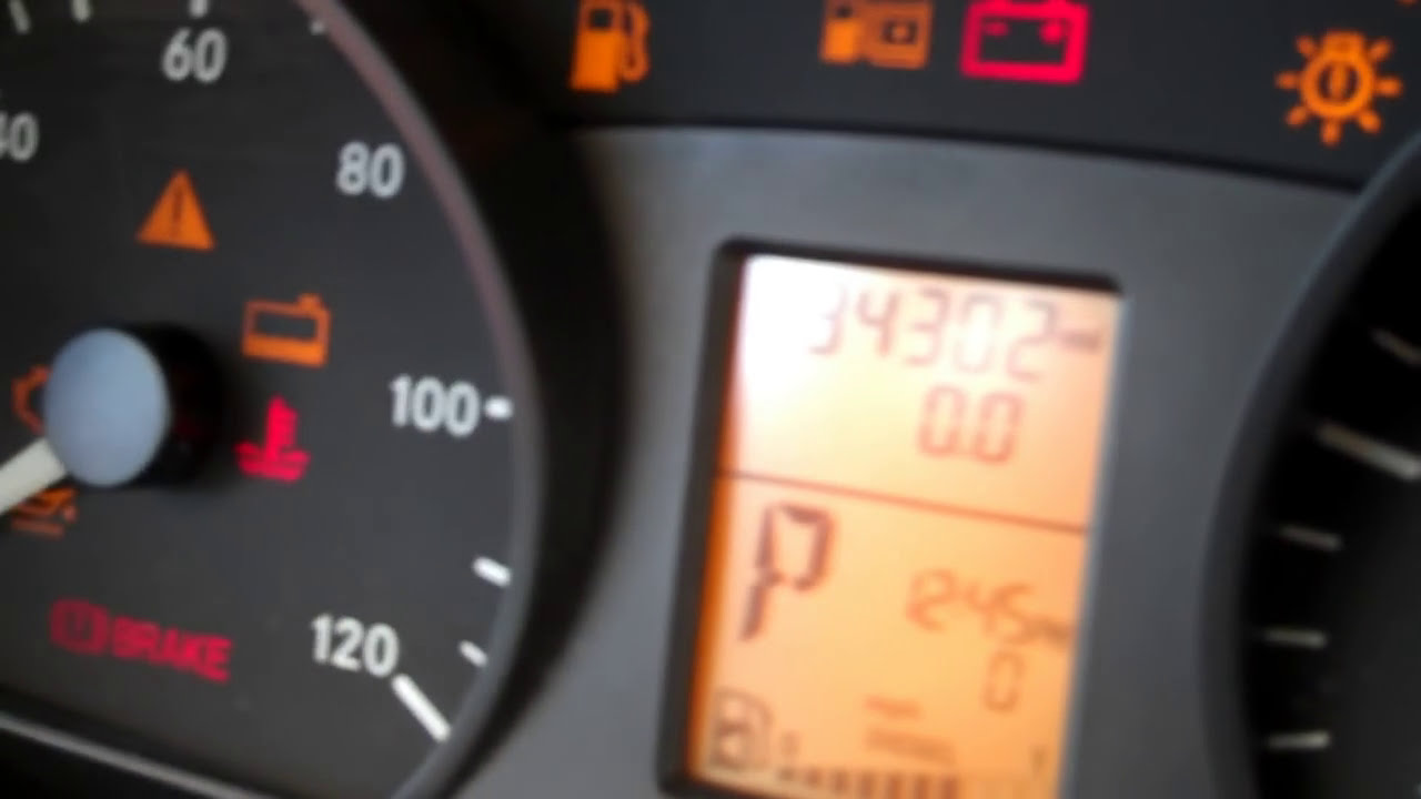 How to reset service indicator light in Mercedes Benz