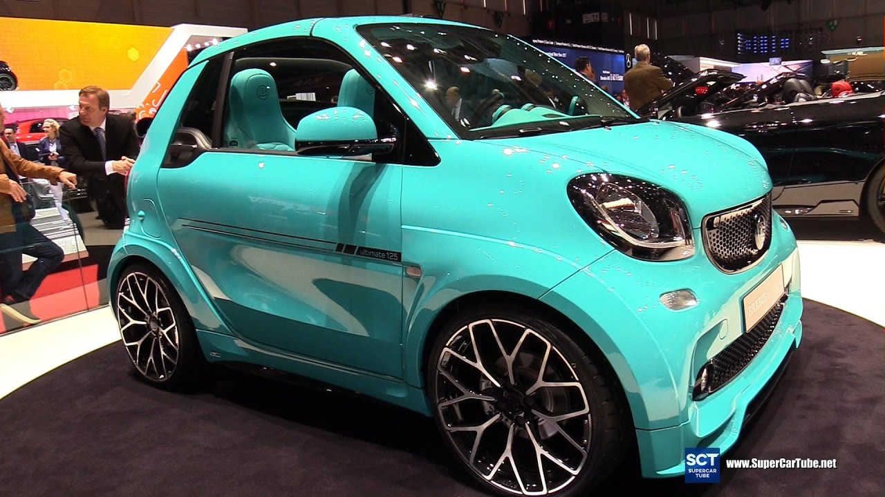 2017 smart fortwo brabus ultimate 125 exterior and. Black Bedroom Furniture Sets. Home Design Ideas