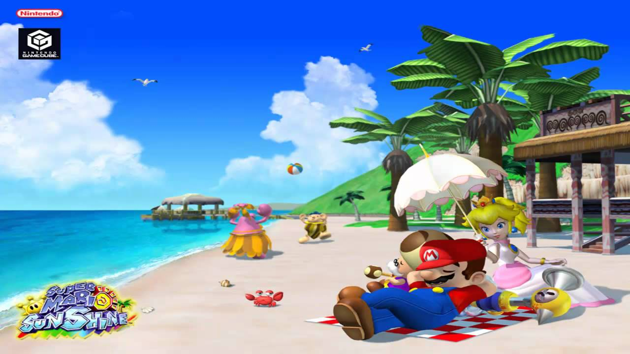 super mario sunshine soundtrack