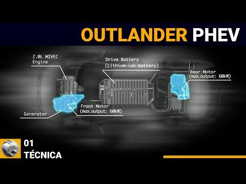 Prueba a fondo: Mitsubishi Outlander PHEV - 03 - Técnica y consumos