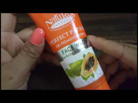 झाइयां हटाने का बैस्ट फेस वाश | Nature's DE - pigmentation Papaya face wash