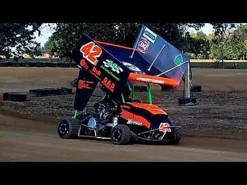 My first video at cottage grove speedway
