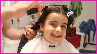 Çocuk Kuaföründe Saçlarımızı Kestirdik Arkadaşlar Çocuk su