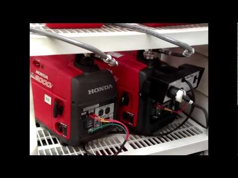 Honda EU16i generator with DIY Silent Box消音ボックス | Doovi