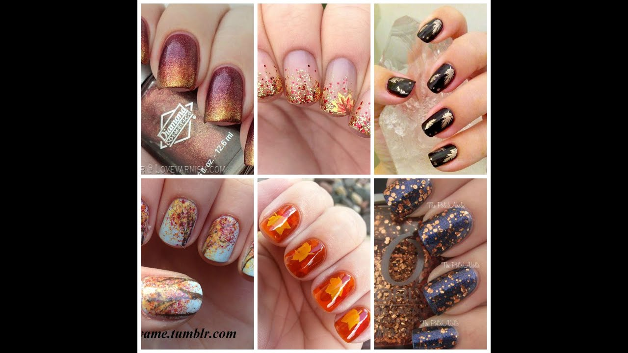 autumn nails art 2015 modele unghii toamna 2015 modelitos de u as de oto o youtube. Black Bedroom Furniture Sets. Home Design Ideas
