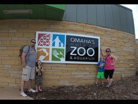Omaha's Henry Doorly Zoo, Omaha, NE (Video 1 of 3): Road Life More Life