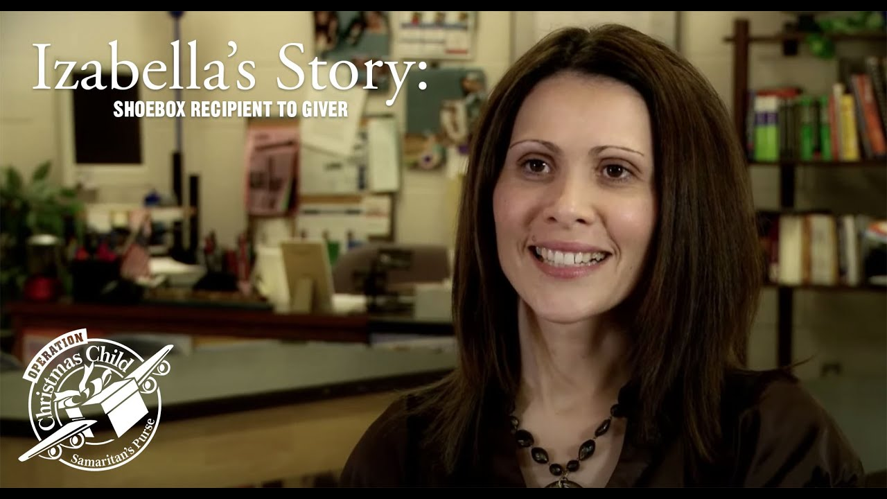 Shoe Box Recipient to Giver: Izabella's Story - YouTube