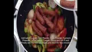 How To Make Devilled Sausage - New Recipe