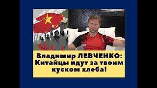 Китайцы идут за твоим куском хлеба! -Владимир Левченко