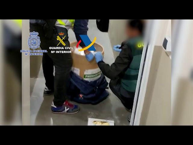 Desarticulada una organización criminal internacional dedicada al tráfico de drogas y blanqueo de capitales.
