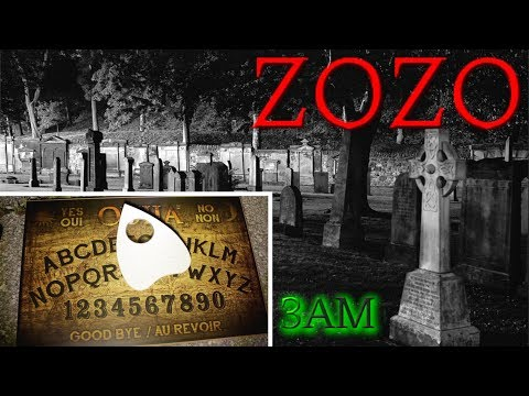 (GONE WRONG) OUIJA BOARD AT THE CEMETERY / CONTACTING ZOZO 3AM CHALLENGE