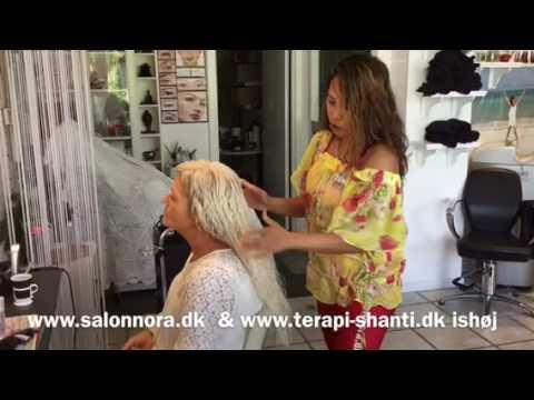 frisør hår tot