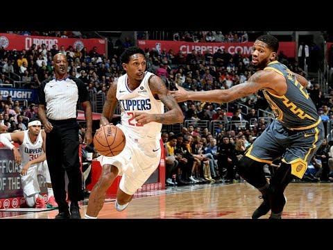 Durant Triple Double! Lou Williams 10 Points in OT! 2018-19 NBA Season