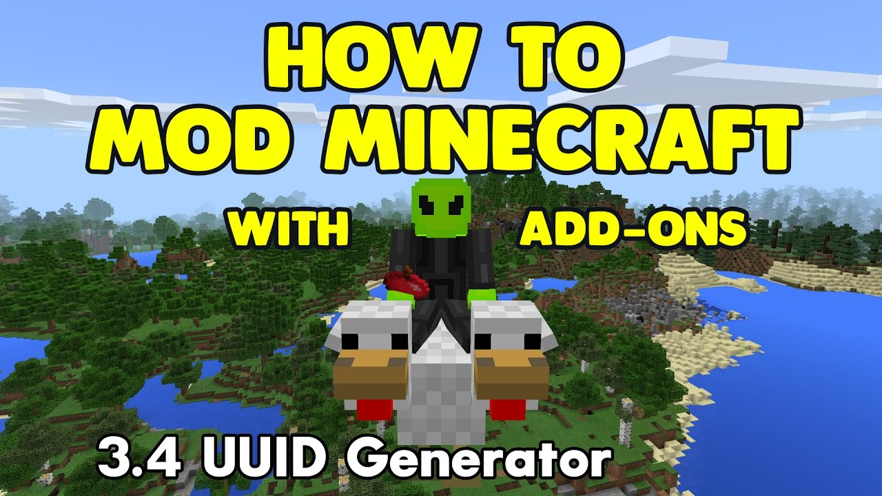 3 4 How to Mod Minecraft with Add-Ons - UUID Generator
