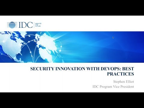 IDC WEBINAR: DevOps; Authenticating Users To The Right Resources Without Roadblocks