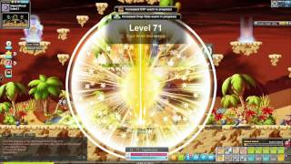 MapleStory - Level 10 to 150 in 3 hours. How to. ON A PAGE