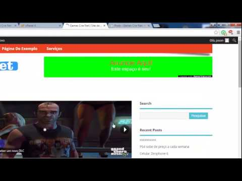 Como editar um tema profissional wordpress - YouTube