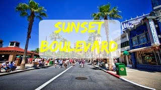 Hollywood Sunset Boulevard - LA Travel guide
