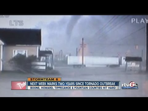 Two years later: Remembering Indiana's second-worst tornado outbreak