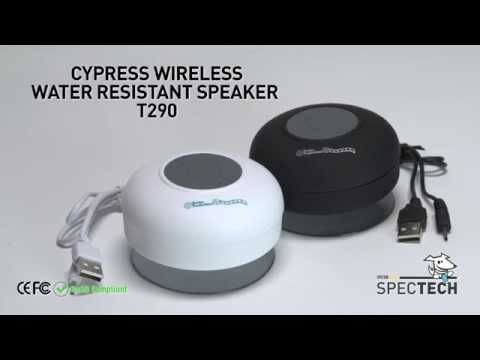 Wireless water resistant speaker CYPRESS