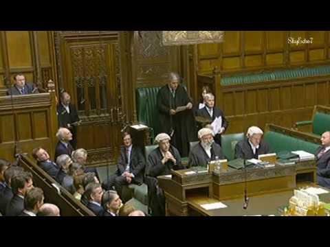 House of Commons Speaker Address & Taking The Oath 2010