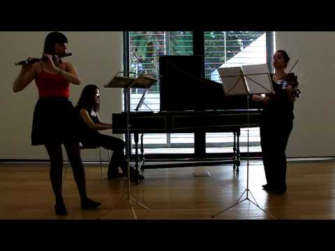 Suite C Major-Marin Marais (Pieces en trio 1692) - Concerto Laureados Concurso JIMA 2012