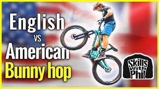Which is Better? English bunny hop vs American bunny hop | Bunny hop tutorial
