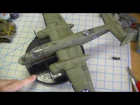 ep106 - accurate miniatures 1/48 b-25b part 10 - the finish!