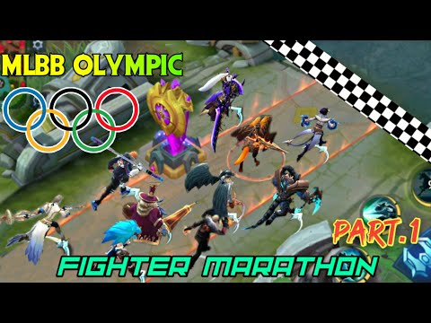 MOBILE LEGENDS OLYMPICS - MARATHON OF FIGHTERS • RUNNING WITH SKILL TOURNAMENT