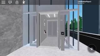 KONE Traction Elevator (One To Street) - Westland City Shopping Center - ROBLOX