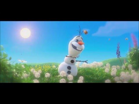 Крижане серце (Frozen) Пісенька Олафа - про Літо (Українською)