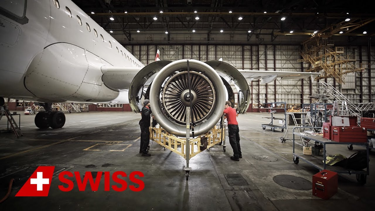 swiss technical division - aircraft engines | swiss - youtube
