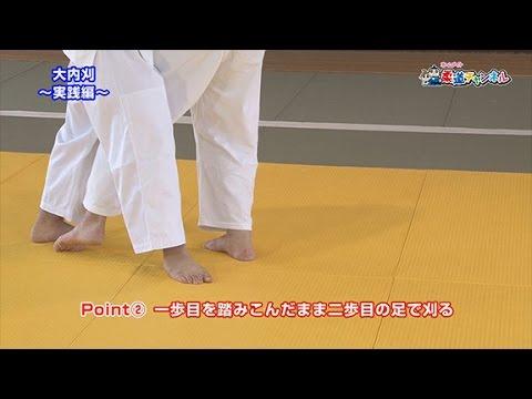 【大内刈~実践編~】柔道チャンネル/少年よ!技をみがけ!~柔道上達への道~