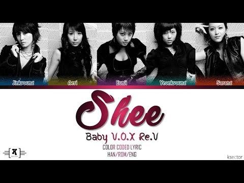 "Baby V.O.X Re.V (베이비복스 리브) - ""Shee"" Lyrics [Color Coded Han/Rom/Eng]"