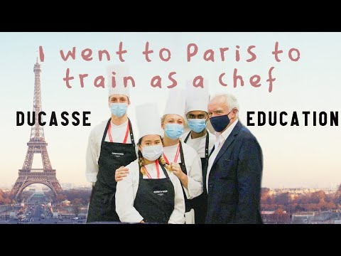 Moving to Paris, first week In Culinary School at Ducasse Education, Paris