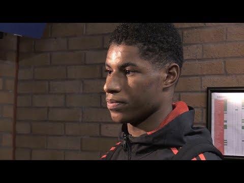 Manchester United 3-0 FC Basel - Marcus Rashford Post Match Interview
